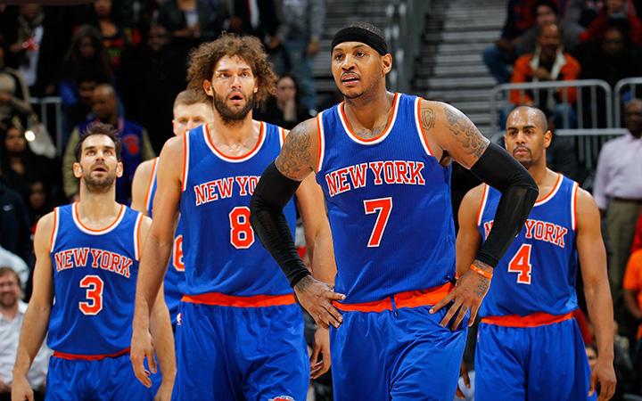 New York Knicks Las decepciones de la temporada en la NBA