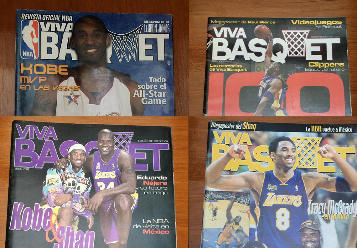 Kobe en las portadas de VIvaBasquet