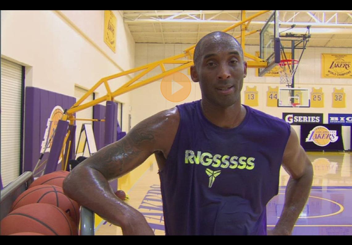 thumbnail. El entrenamiento de Kobe Bryant