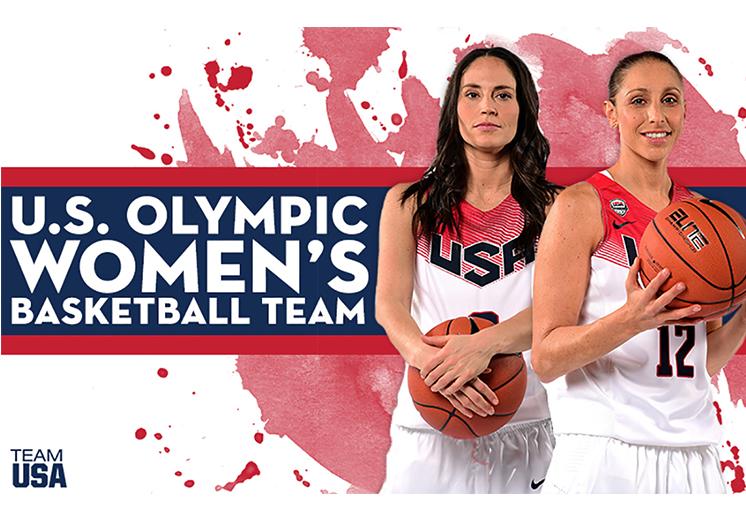 USA olympics womens basketball team