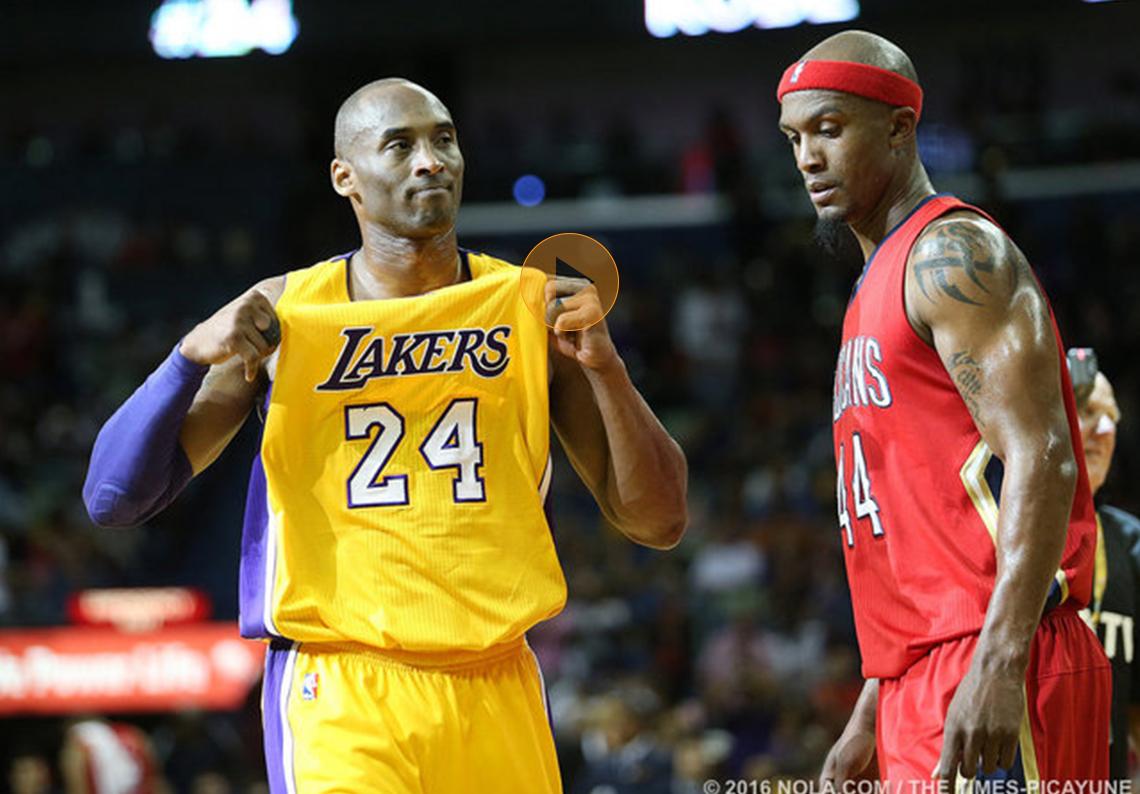 thumbnail. Los Pelicans se despiden de Kobe Bryant