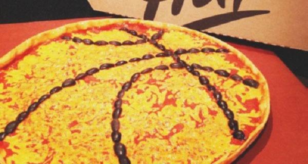 PIZZA DE BASQUETBOL