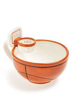 cereal en plato de basquetbol