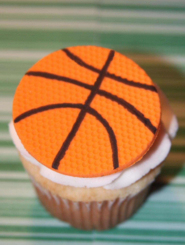 cupcake de basquetbol