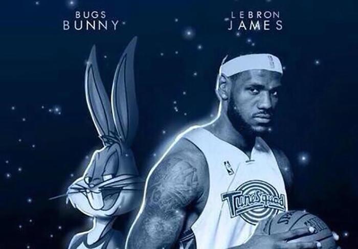 De nuevo colocan a LeBron James en Space Jam 2