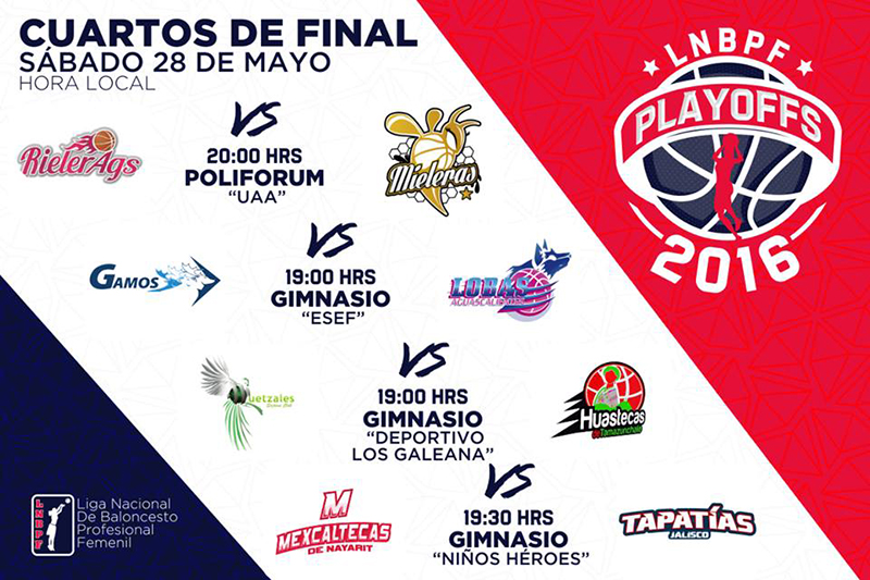 ARRANCAN LOS PLAYOFFS EN LA LNBP FEMENIL
