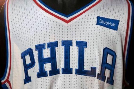 76ers es el primer equipo en vender publicidad