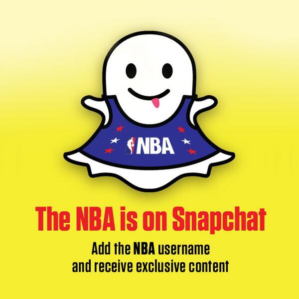 Las cuentas de Snapchat basquetboleras que debes seguir.
