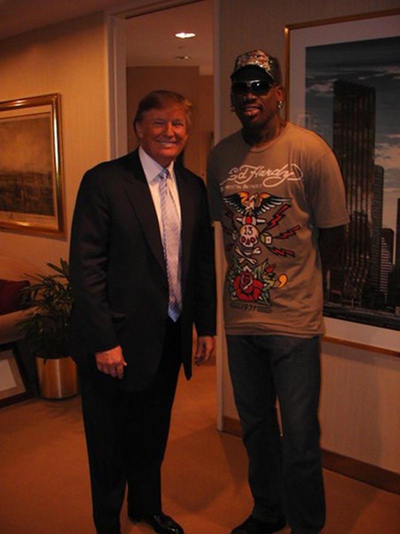 Dennis Rodman votará por Trump por Viva Basquet