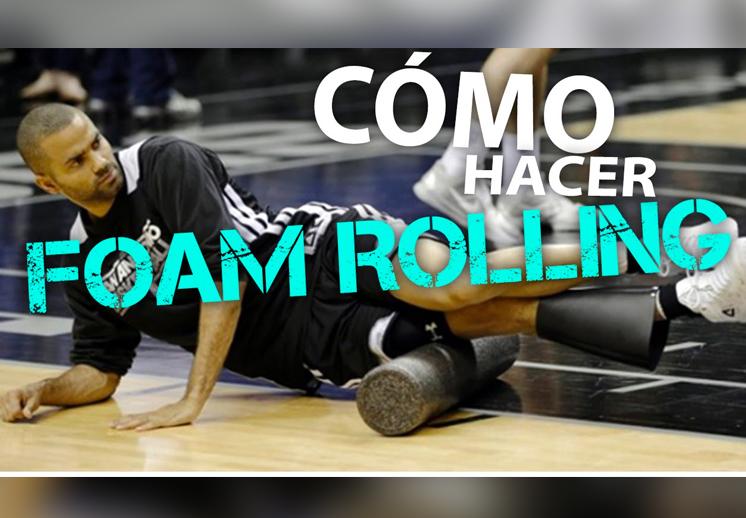Foam Rolling: Recuperación y activación muscular por Viva Basquet