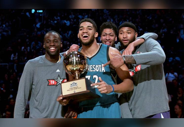 Karl-Anthony Towns es el Novato del Año en la NBA