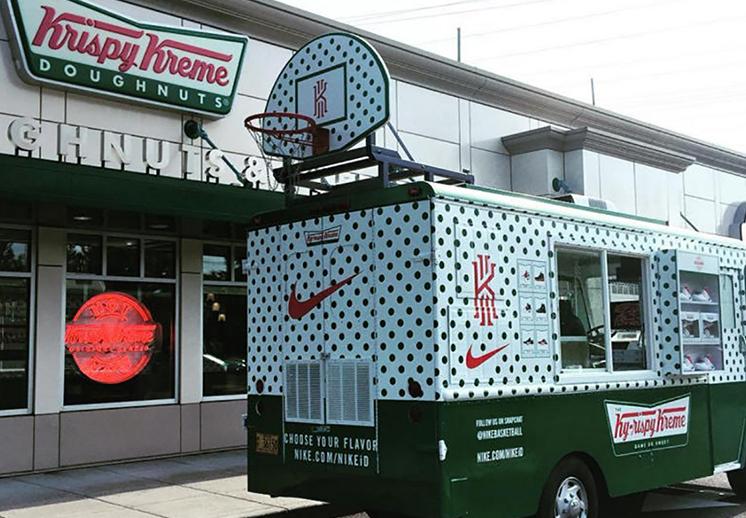 thumbnail. Kyrie 2 en colaboración con Krispy Kreme