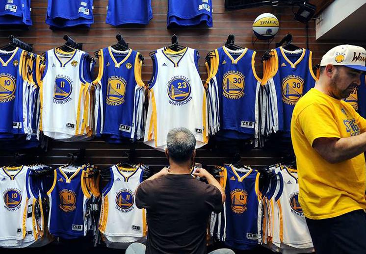 Los jerseys más vendidos de la temporada.