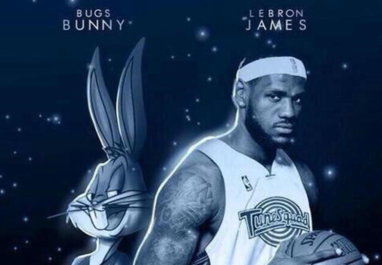 thumbnail. De nuevo colocan a LeBron James en Space Jam 2