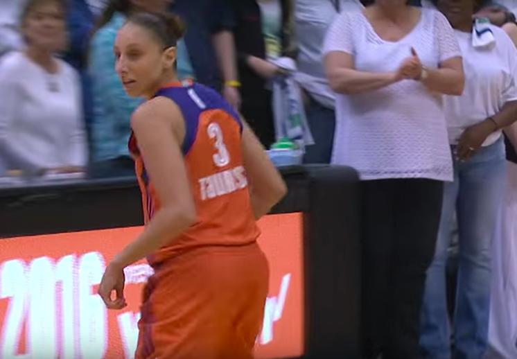 Las 10 mejores jugadas de la noche inaugural de la WNBA. foto de diana taurasi