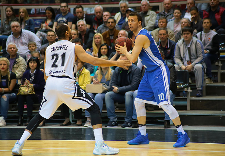 Paul Stoll y el Avtodor eliminados en la VTB United League