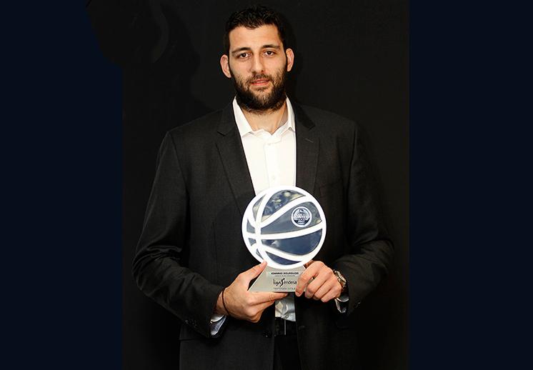 Ioannis Bourousis el MVP de la Liga Endesa