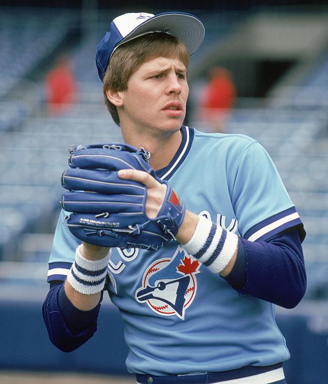 Danny Ainge jugando baseball