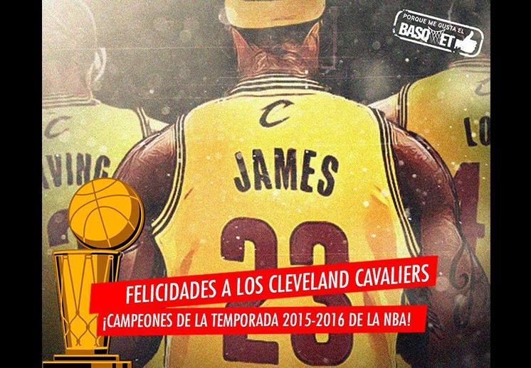 Cleveland Cavaliers campeones de la NBA