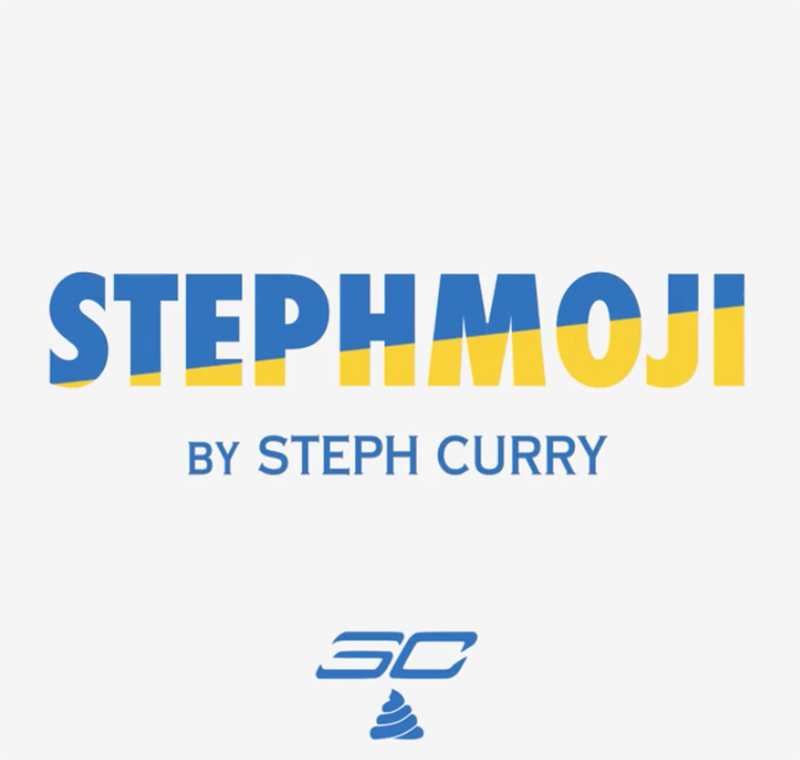 CURRY APP for emojis in the finals