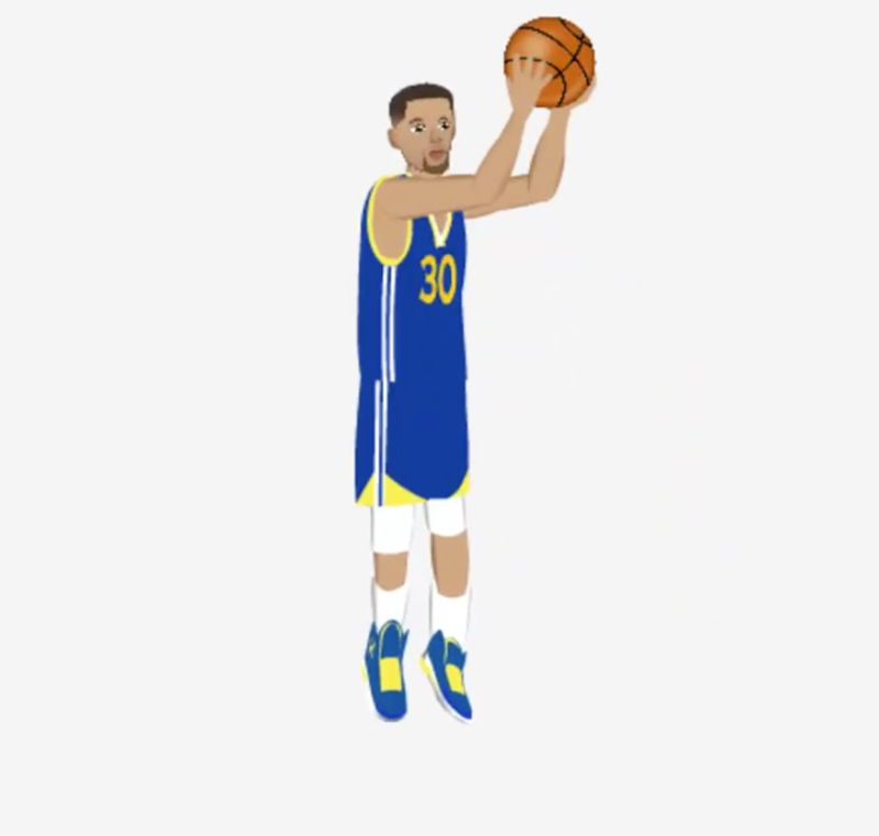 CURRY APP for emojis in the finals foto 2