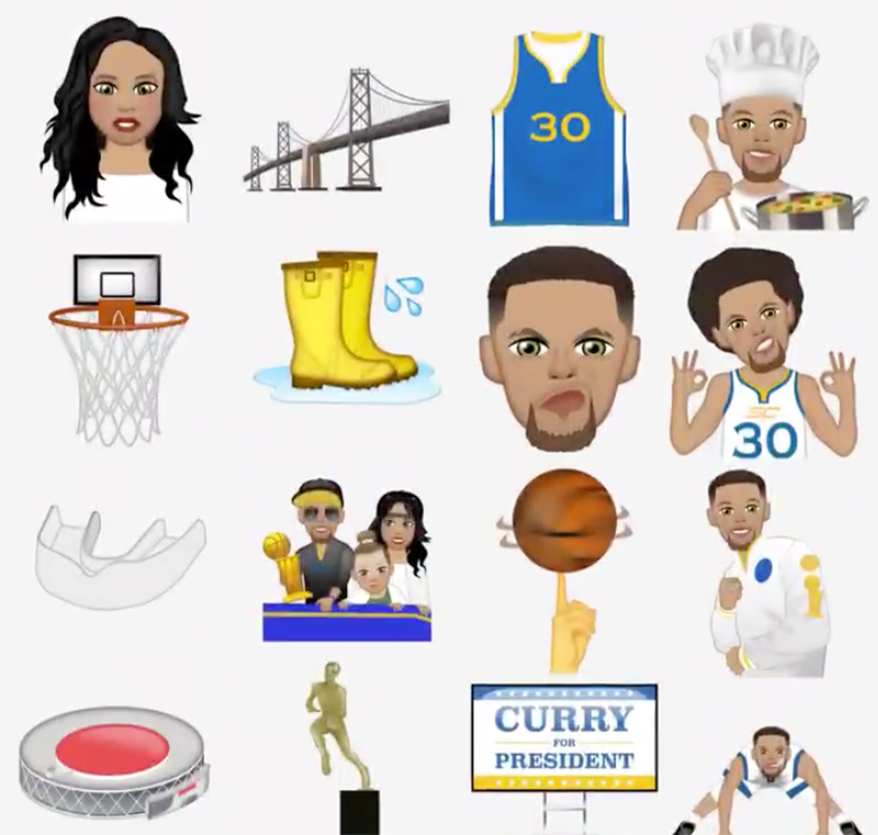 CURRY APP for emojis in the finals foto 3