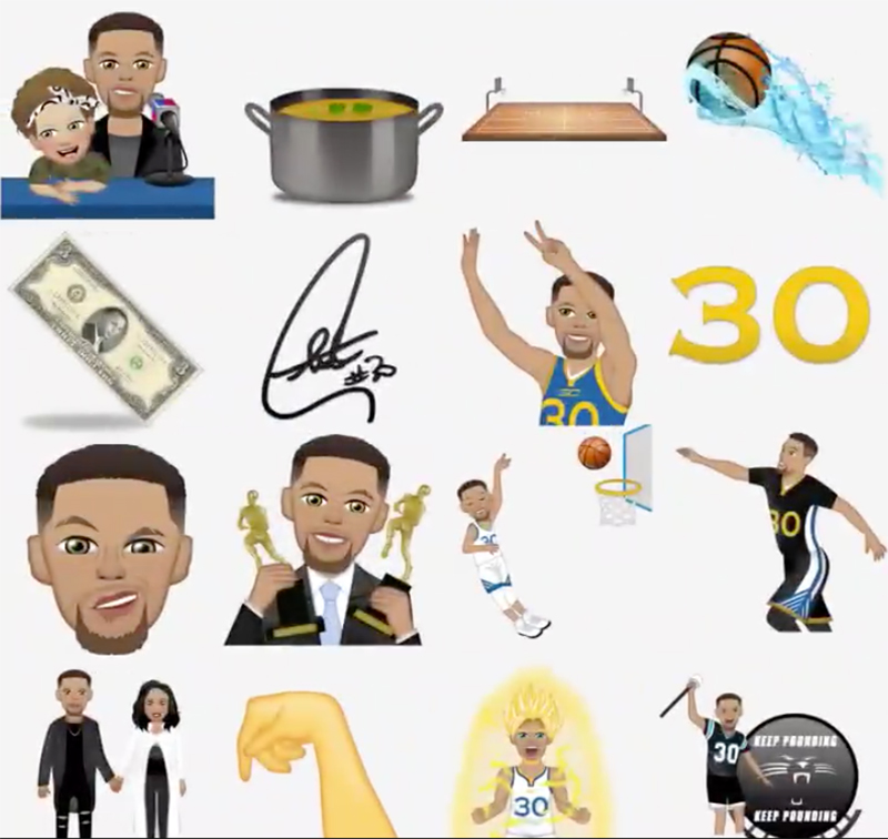 CURRY APP for emojis in the finals foto 4
