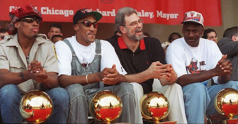 Los Bulls presumen ser el mejor equipo de la historia foto 1