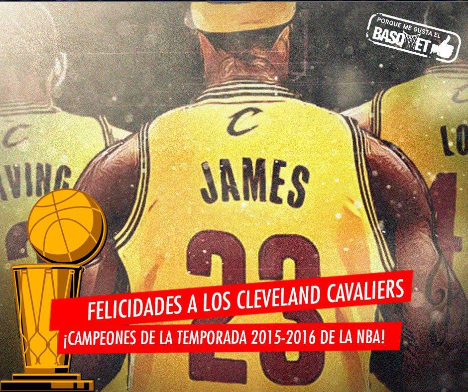 Cleveland Cavaliers campeones de la NBA fofo 1