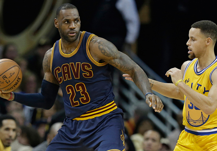 Lebron vs Curry in The NBA Finals