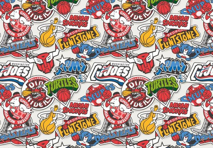 Los logotipos de la NBA inspirados por caricaturas foto principal thumbnail