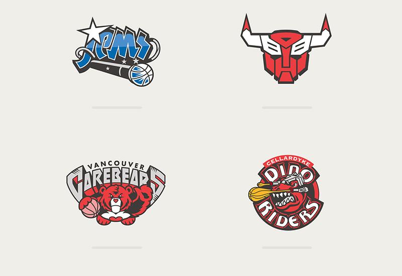 Los logotipos de la NBA inspirados por caricaturas foto 2