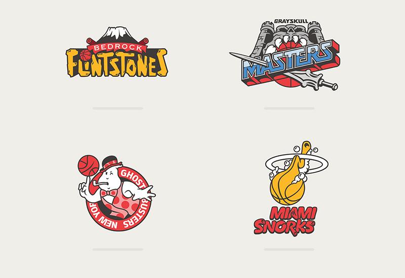 Los logotipos de la NBA inspirados por caricaturas foto3