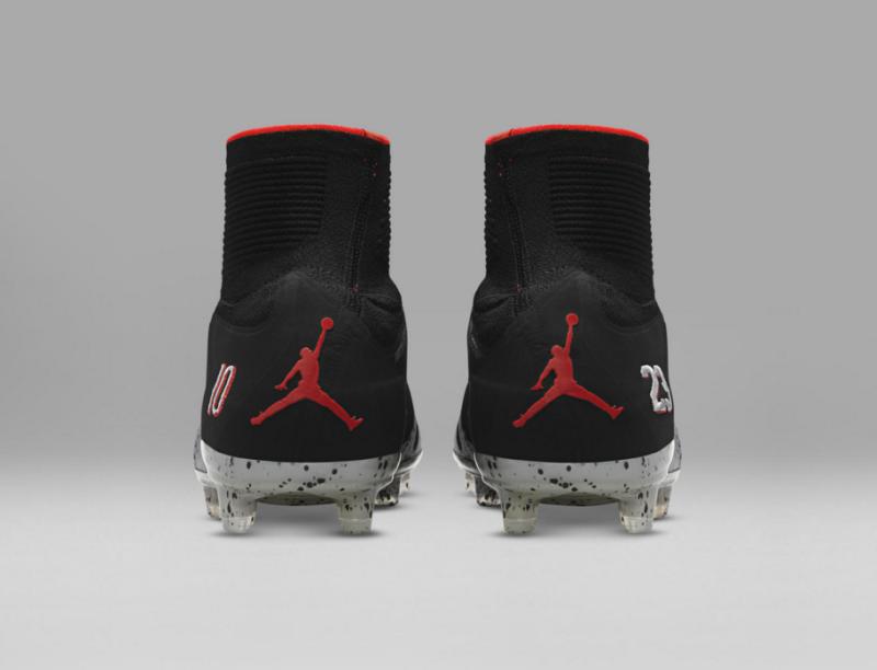 Zapatos de Neymar con el logo de Jordan Foto 2