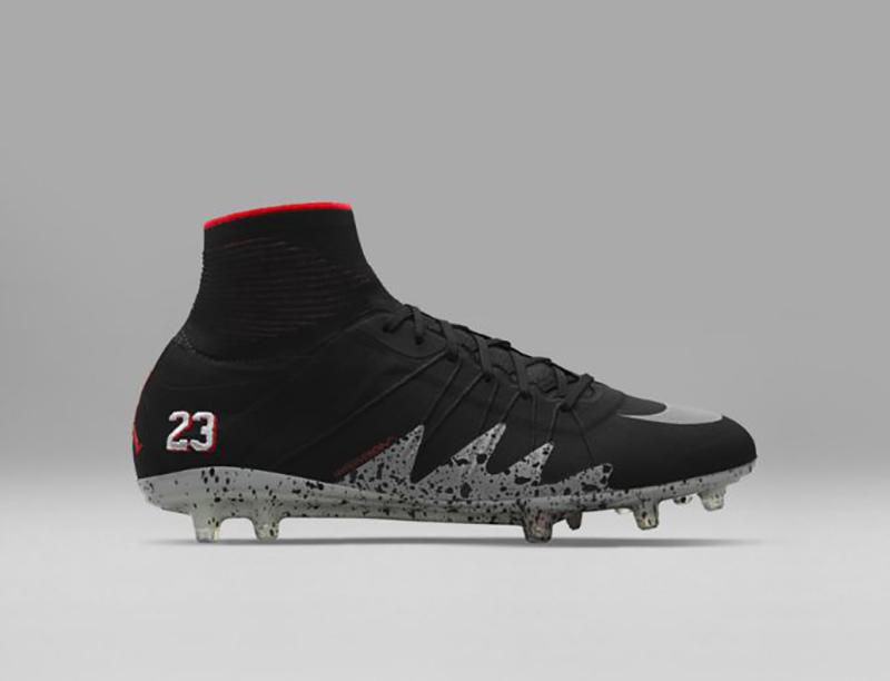 Zapatos de Neymar con el logo de Jordan Foto 3