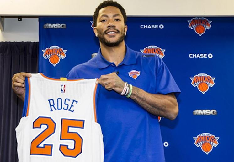 Derrick Rose agradece llegar a los Knicks