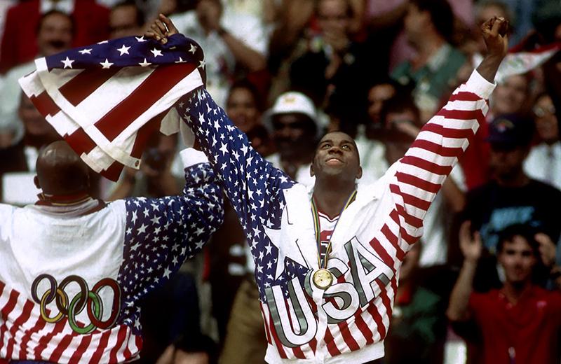 Equipo olímpico de básquet de EUA por Viva Basquet