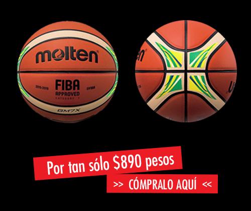 compra el balon oficial de rio 16 en la tienda de viva basquet