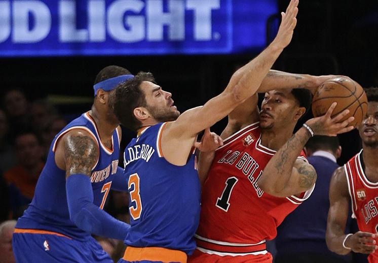 Los Knicks ponen el ojo en Derrick Rose