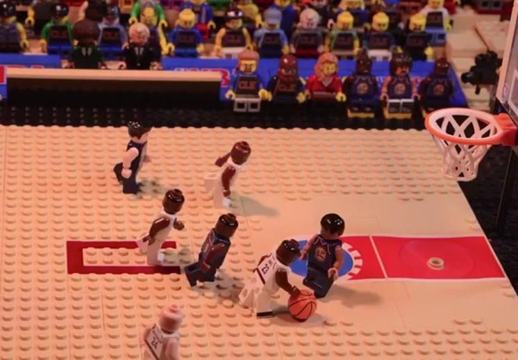 Bleacher Report recreó Las Finales con Legos
