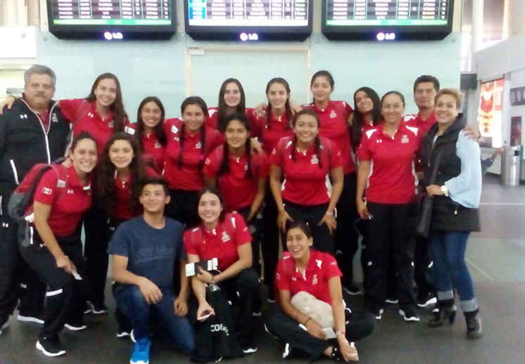 La Selección Femenil Sub-17 viajó rumbo al Mundial