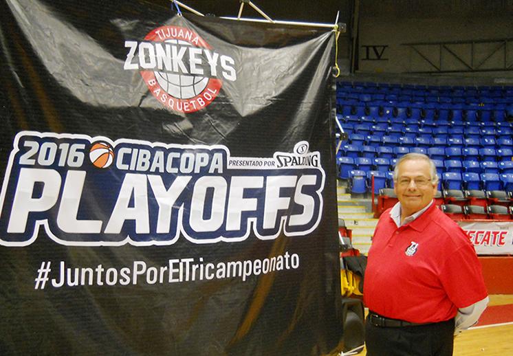 thumbnail. Zonkeys de Tijuana listos para los Playoffs de CIBACOPA