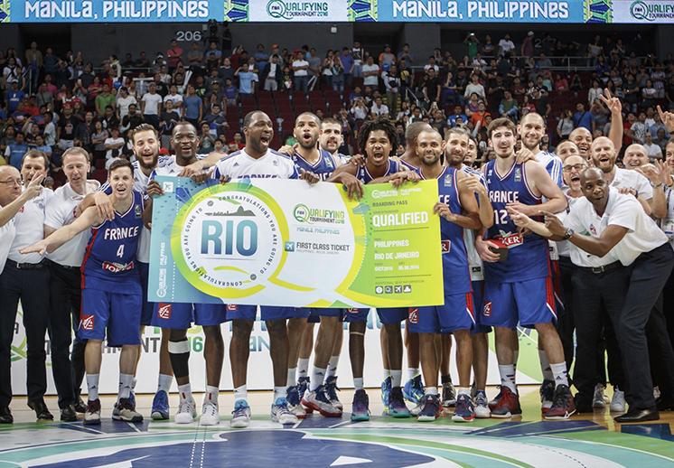 Francia se quedó con el último boleto a Rio por Viva Basquet