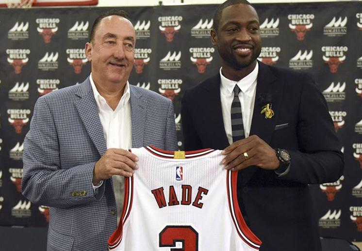 Los Bulls le dan la bienvenida a Dwyane Wade