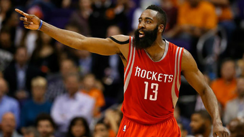 James Harden firmó extensión con Houston