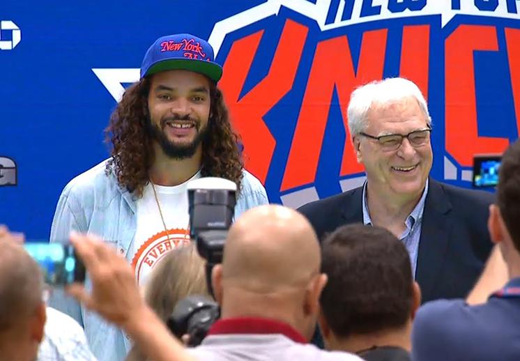 Joakim Noah y su sueño de jugar con los Knicks por Viva Basquet