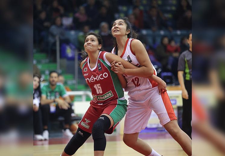 Victoria ante Chile para la U18 en el FIBA Américas Femenil por Viva Basquet