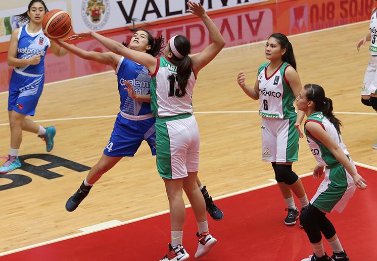 Las mexicanas sumaron otra victoria en FIBA Américas U18 por Viva Basquet