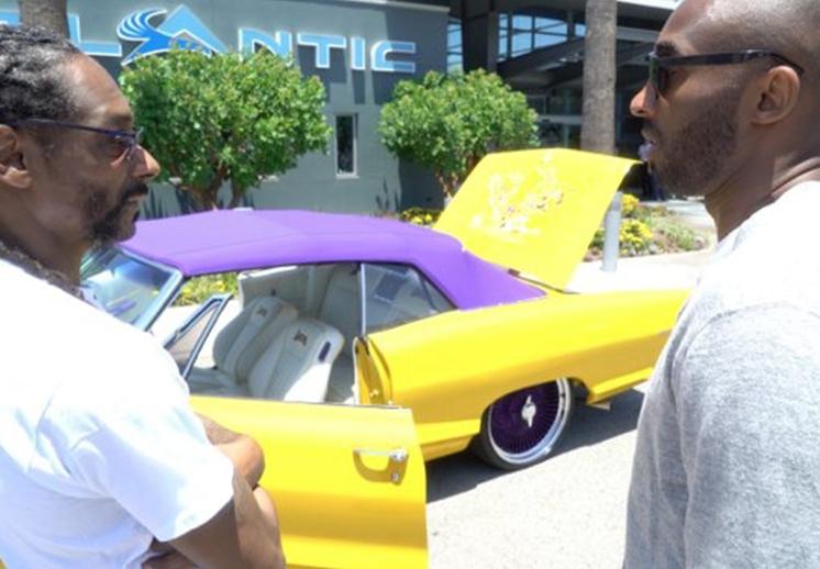 Snoop Dogg le regaló un auto a Kobe Bryant por Viva Basquet