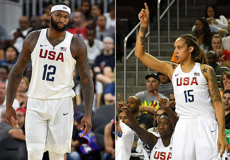 Brittney Griner vs DeMarcus Cousins